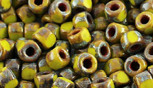 Бусины 3CUT MATUBO цвет 53410-86805, размер 6/0 (3.7 - 4.3 мм), 10 гр