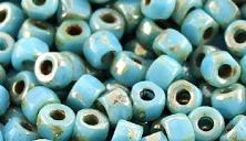 Бусины 3CUT MATUBO цвет 63030-43400, размер 6/0 (3.7 - 4.3 мм), 10 гр