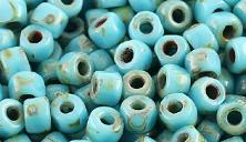 Бусины 3CUT MATUBO цвет 63030-86805, размер 6/0 (3.7 - 4.3 мм), 10 гр